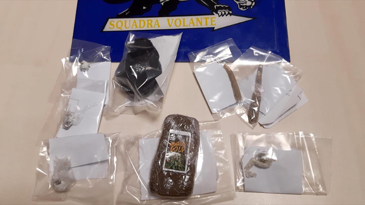La droga sequestrata a Senigallia dalla polizia