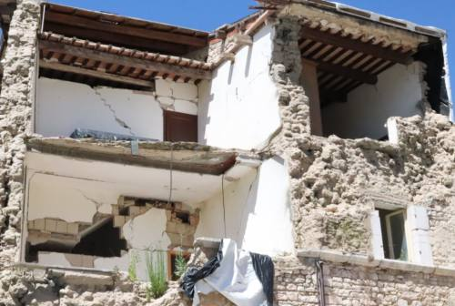 Ricostruzione post sisma, presentati gli emendamenti da inserire in Finanziaria