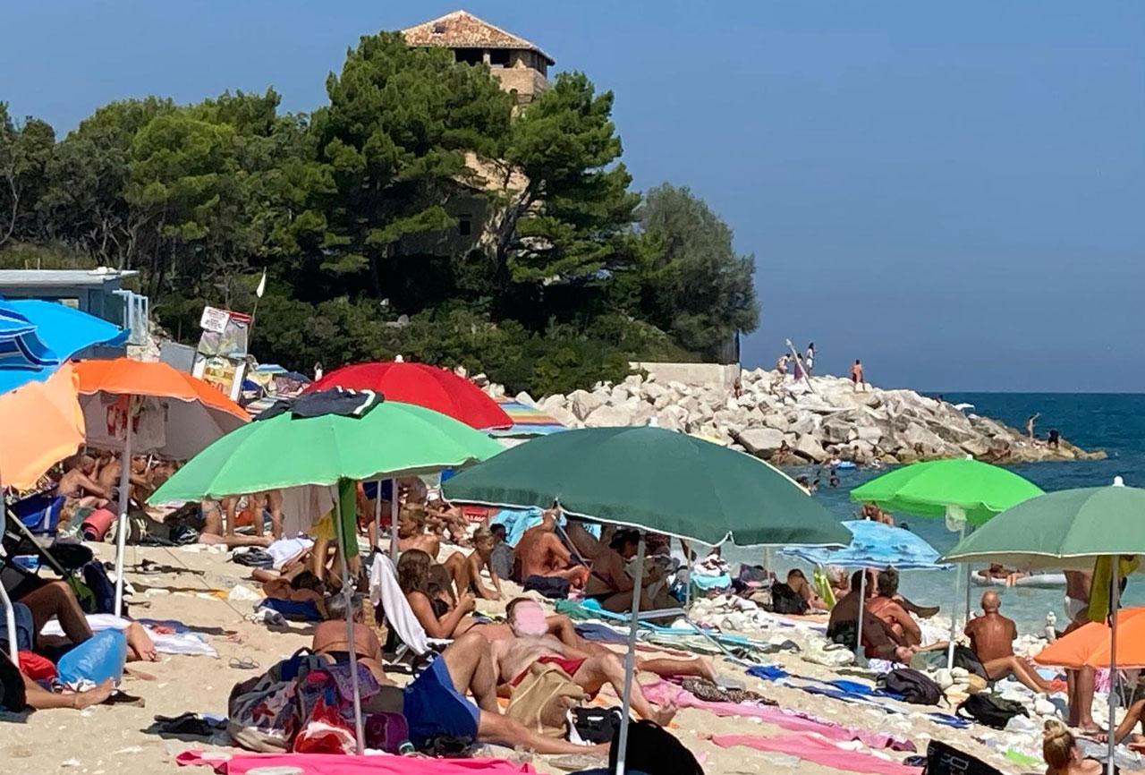 Ancona, spiaggia Torre