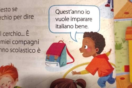 """Illustrazione """"razzista"""" a scuola, editore di Monte San Vito nella bufera"""