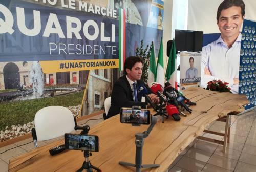 Elezioni regionali, il saluto di Francesco Acquaroli neo-governatore