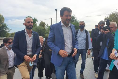 Matteo Salvini torna nelle Marche. Sul toto giunta dice: «Nessun numero, contano le persone»