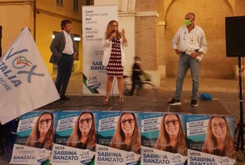 A Fano chiusa la campagna elettorale di Vox Italia-Marche con Diego Fusaro