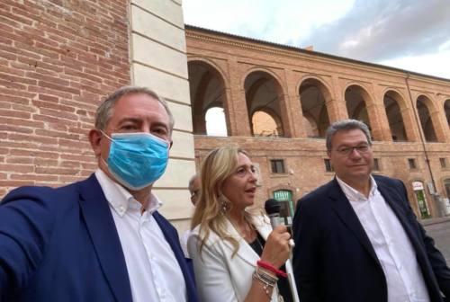 Regionali, endorsement di Adolfo Urso a Mirella Battistoni