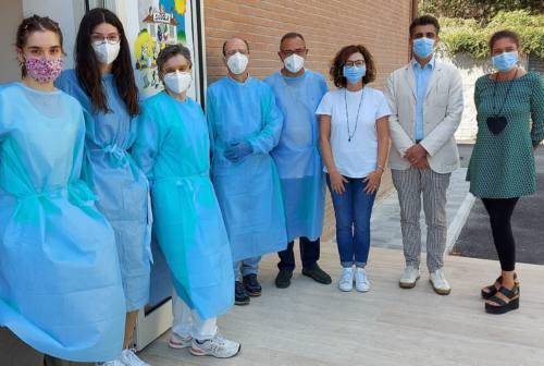 """Loreto """"dà una lezione al Covid"""": terminati i test sierologici all'alberghiero"""