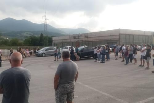 Indelfab di Fabriano, i lavoratori: «Noi vogliamo lavorare»