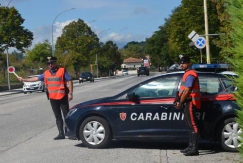 Fabriano: prenota un taxi ed evade dai domiciliari, secondo arresto in pochi giorni