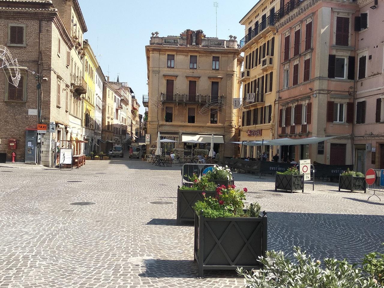 Il centro di Osimo