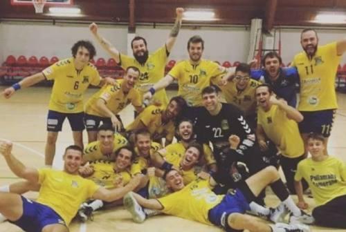 Pallamano Camerano, subito vittoria per i gialloblu di coach Campana