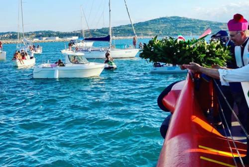 Festa del mare sottotono, il sindaco Mancinelli: «Basta morti di migranti» – FOTO