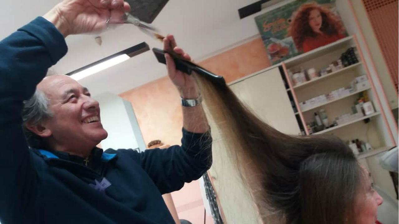 Giorgio Berrettini in azione