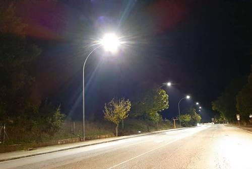 Fabriano: luci a led in città, impegno mantenuto e risparmio per il Comune