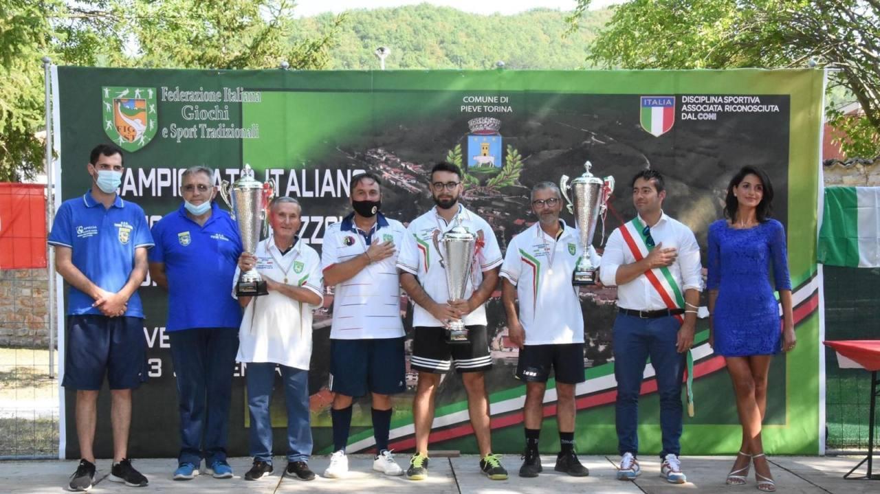 Svolti i campionati di ruzzola individuale, Luca Massi è il campione italiano 2020