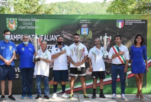 Ruzzola, Luca Massi è il campione italiano individuale 2020