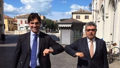 Olivetti incontra il neo eletto Acquaroli, sostegno per il ballottaggio di Senigallia