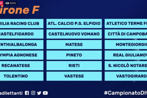 Calcio, Serie D: svelati i gironi. Le marchigiane ancora una volta tutte nel girone F