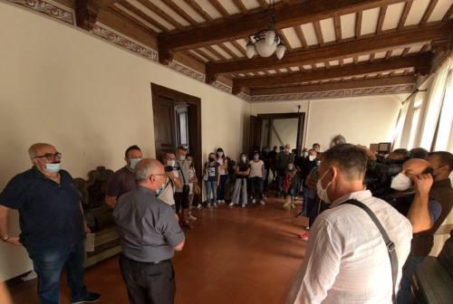 Il vescovo di Fabriano riceve sindacati e lavoratori: «Salvaguardare la coesione sociale»