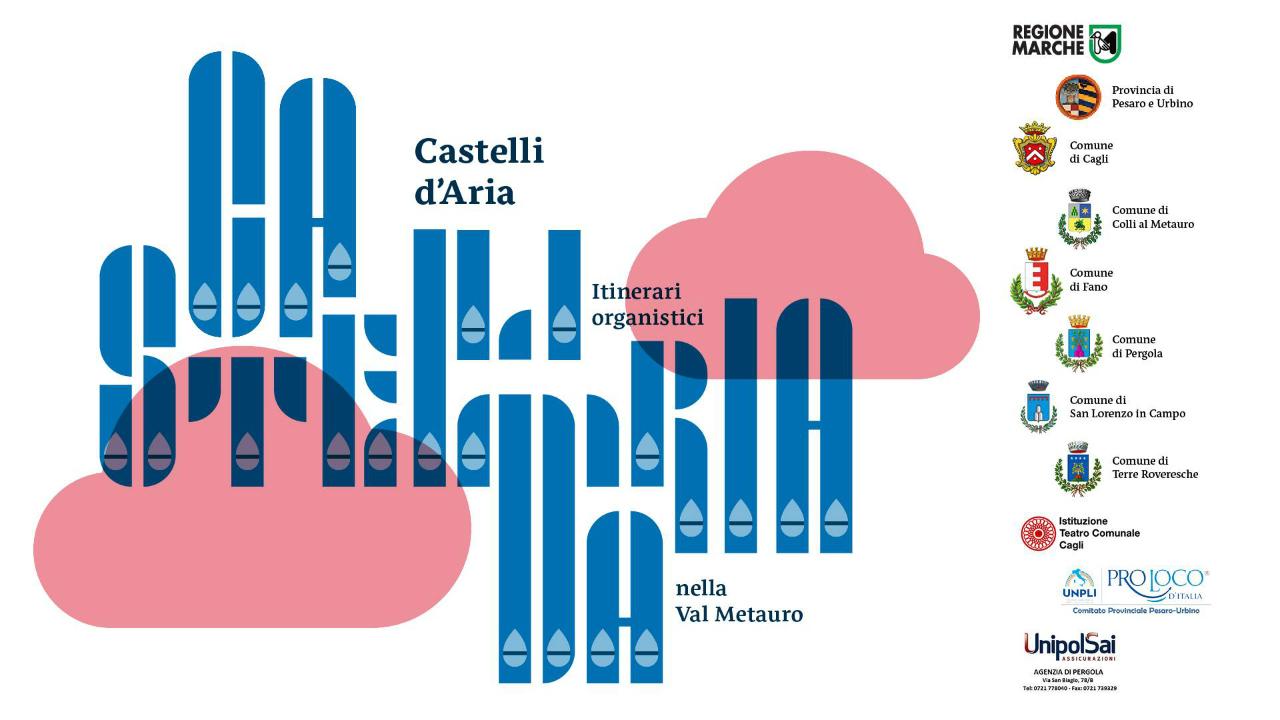 La locandina di Castelli d'Aria