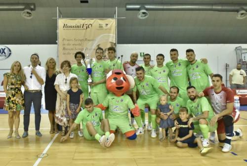 Italservice in campo con l'Olimpus Roma: torna il Memorial Nino Pizza