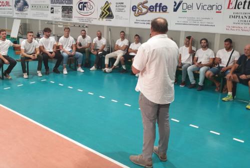 Sampress Nova Volley Loreto, al via ragazzi e ragazze sotto gli occhi del presidente Massacesi