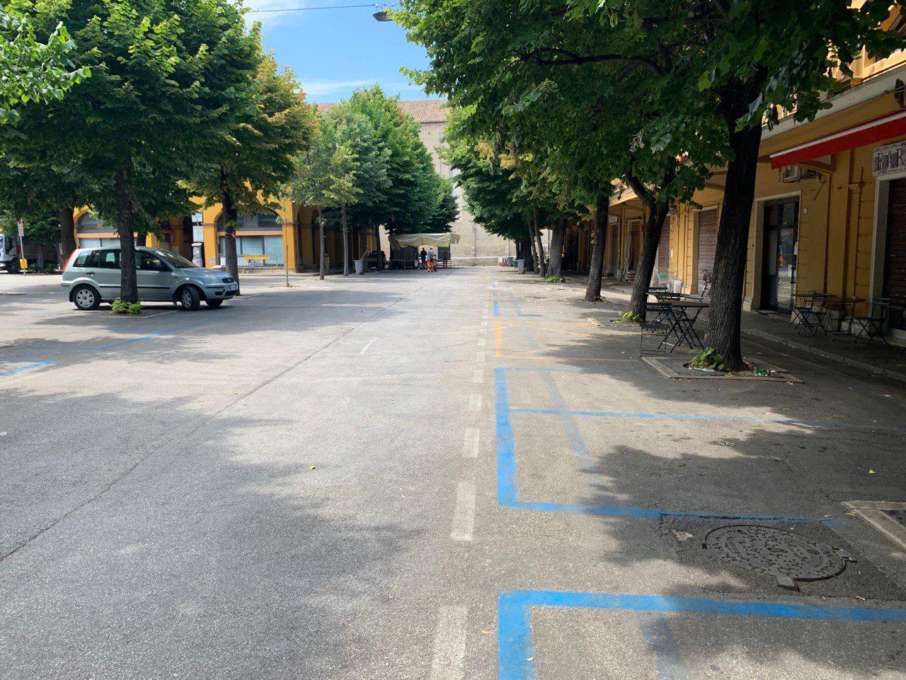 Ztl in Piazza Costa