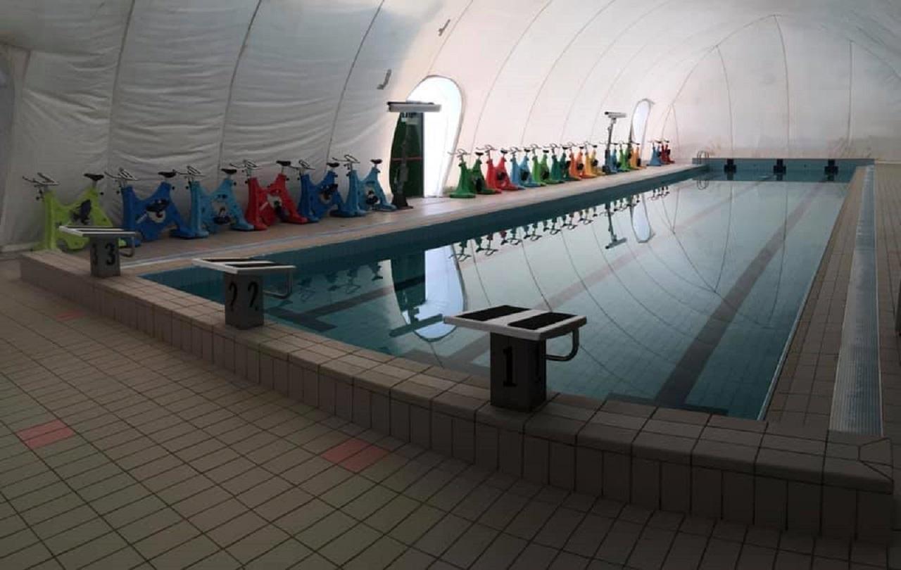 La piscina rinnovata