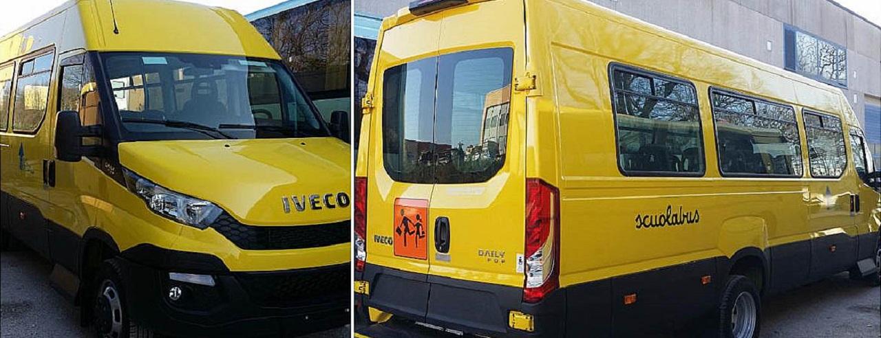 Gli scuolabus di Osimo