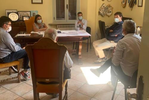 Pedemontana Fabriano-Cagli, incontro fra cinque sindaci e la sottosegretaria Morani