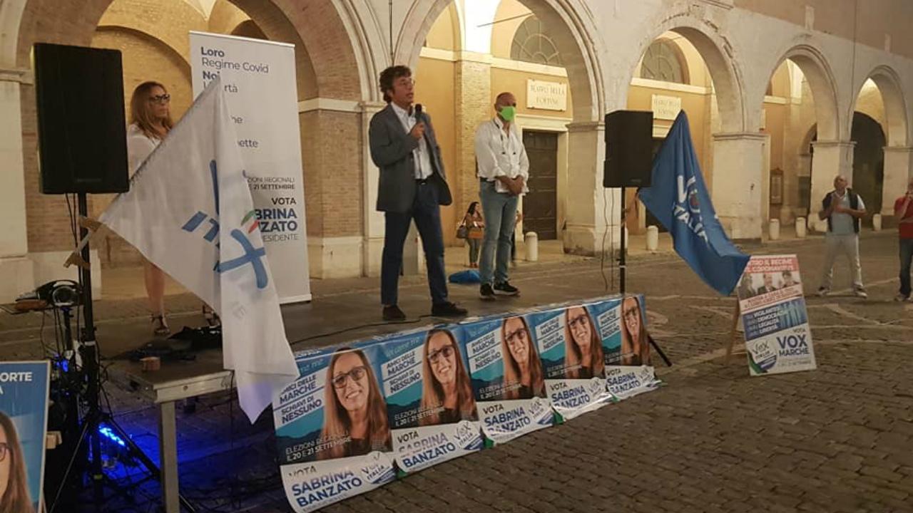 Vox Italia-Marche a Fano