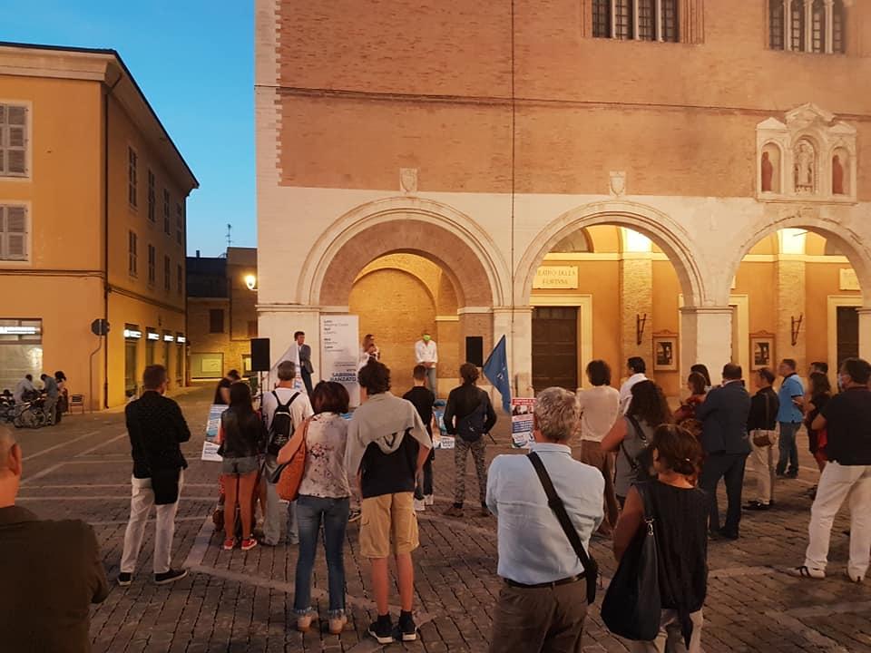 Vox Italia Marche, incontro con Fusaro