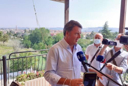 Matteo Renzi a Jesi per Italia Viva e Mangialardi: «Alle regionali un voto non ideologico»