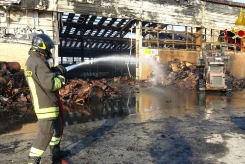 Incendio ex Tubimar, la causa in un corto circuito