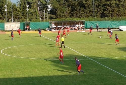 Calcio, Anconitana: vittoria in amichevole ad Osimo dopo la consegna del Dorico