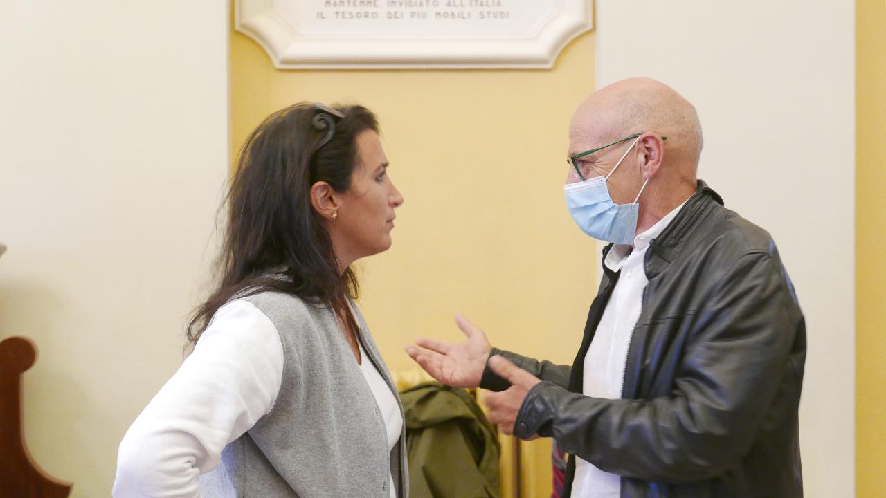 Beatrice Brignone e Fabrizio Volpini