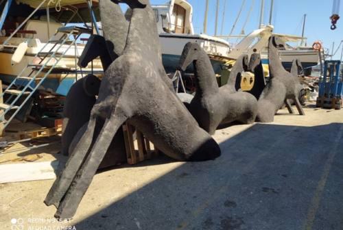 Lo scultore Mimmo Paladino sceglie Ancona per il restauro delle sue opere
