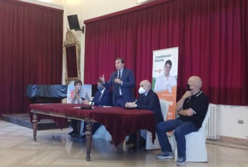 Il ministro Enzo Amendola a Jesi: «Dal Recovery Fund 8 miliardi  per la ripartenza delle Marche»