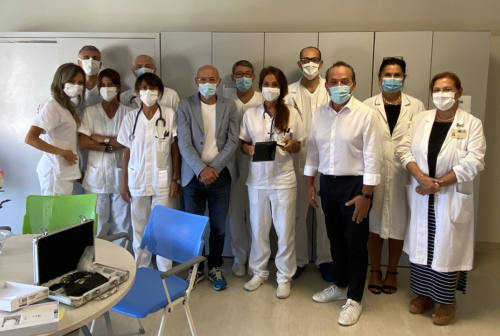 Nuovo ecografo portatile per l'ospedale di Senigallia