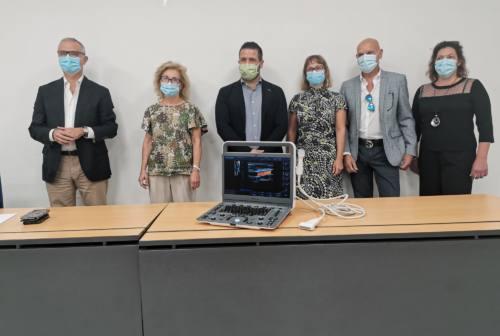 Macerata, la Fertitecnica di Colfiorito dona un ecografo per le diagnosi vascolari all'Area Vasta 3