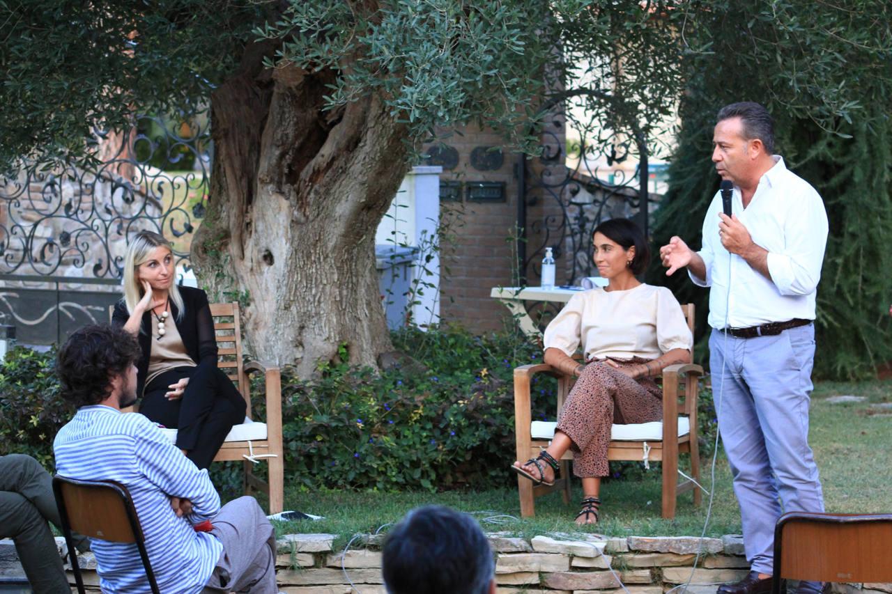 Maurizio Memè all'incontro elettorale di Giorgia Fabri