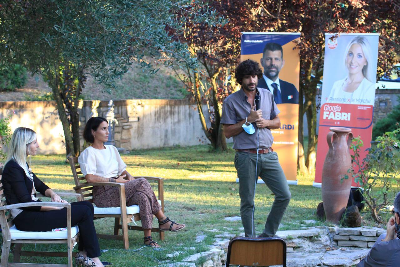 L'intervento di Matteo Principi a sostegno di Giorgia Fabri