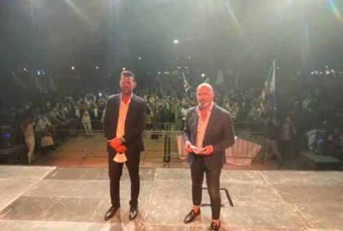 Mangialardi e Bonaccini a Civitanova: «Patto per le Marche»