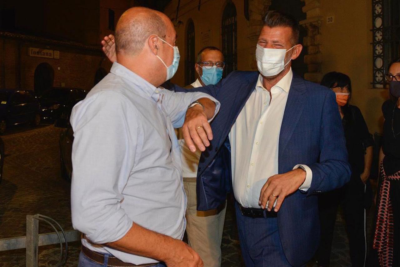 Maurizio Mangialardi e Nicola Zingaretti