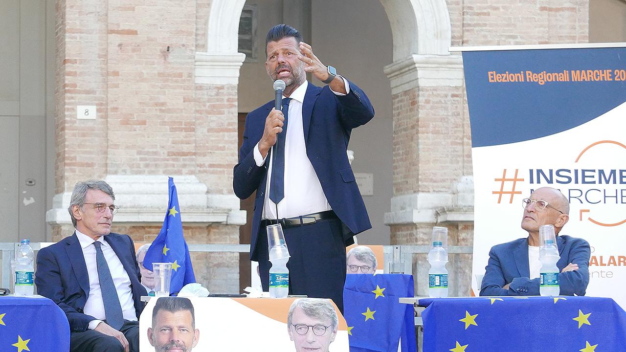 L'intervento di Maurizio Mangialardi
