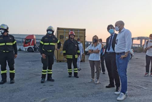 Meloni ad Ancona, «ottimista sull'esito elettorale»