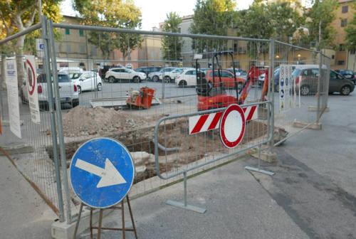 Ricompare il ghetto ebraico sotto piazza Simoncelli a Senigallia