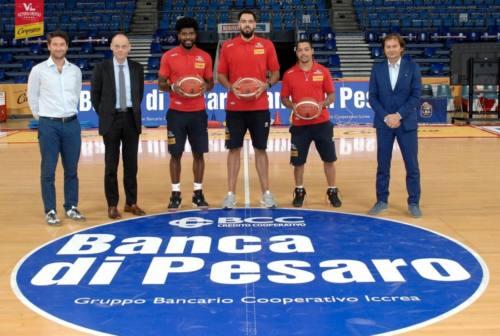 VL Basket, Cain, Massenat e Robinson si presentano