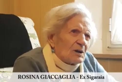 Si è spenta l'ultima sigaraia della Manifattura Tabacchi, Rosina Giaccaglia aveva 97 anni