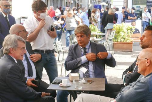 David Sassoli a Senigallia: «La battaglia delle Marche è la battaglia dell'Europa»
