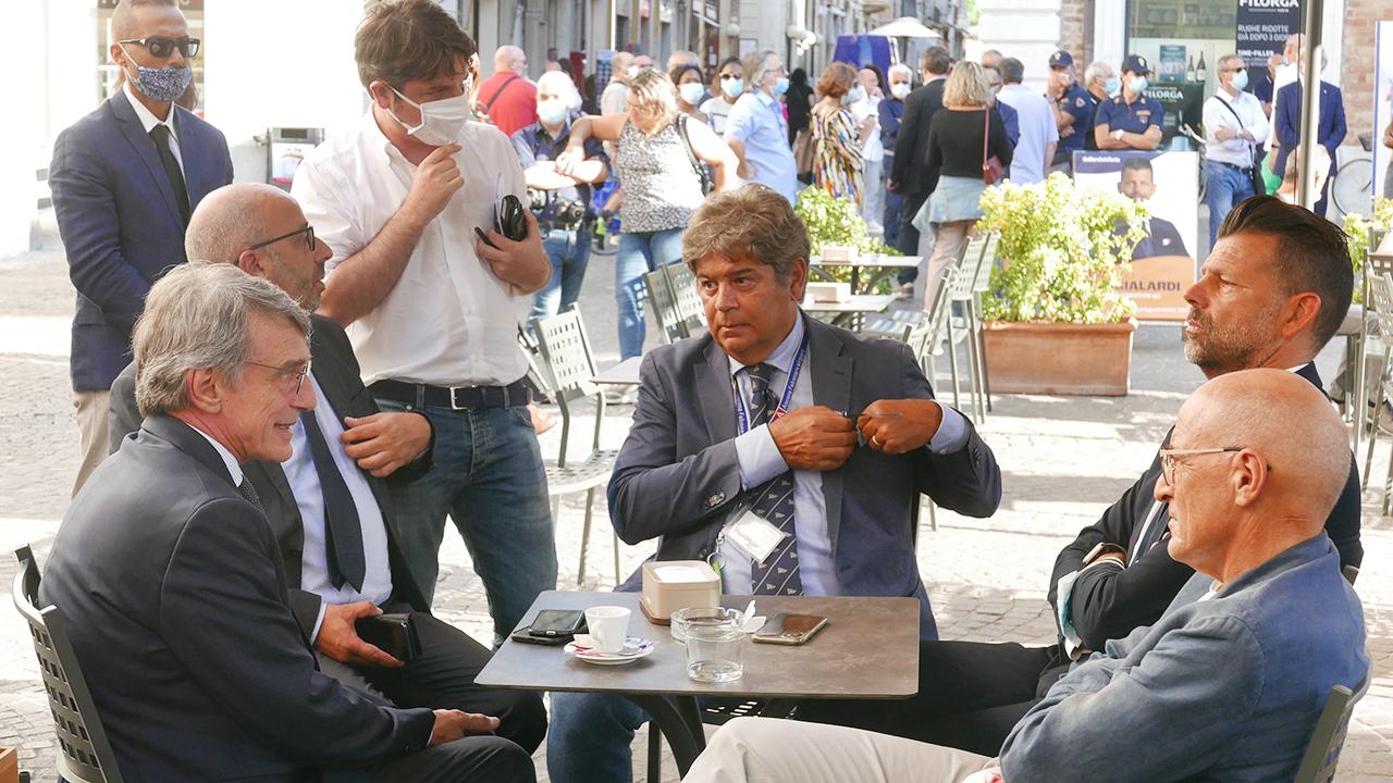 David Sassoli a Senigallia per discutere di politiche europee ed elezioni regionali