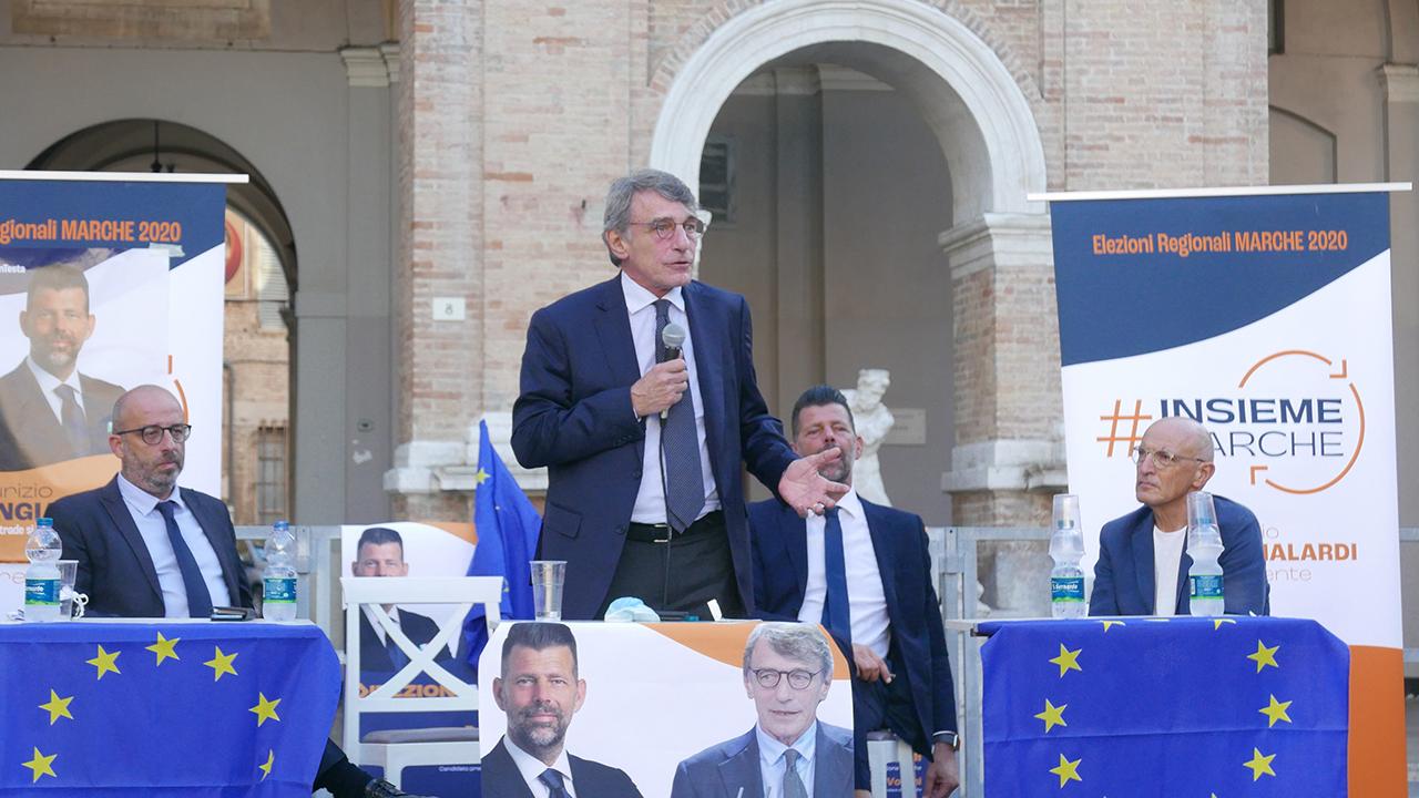 L'intervento di David Sassoli a Senigallia